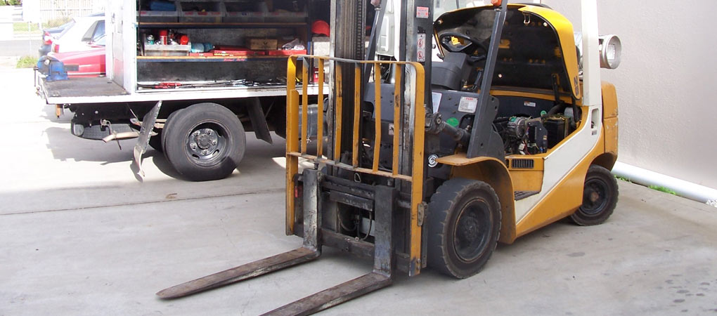 Forklift Repairs Lake Macquarie, Onsite Servicing Newcastle, Forklift Pressure Cleaning and Degreasing Morisset